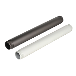 "1"" Diameter Pipe, Color : Gray & White, Fit for B1-1 & B3, Pipe Length: 7"""