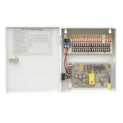 12V DC, 18CH, 10Amps Power Box
