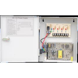 12V DC 9Ch 110V AC Input 5Amps Power Supply