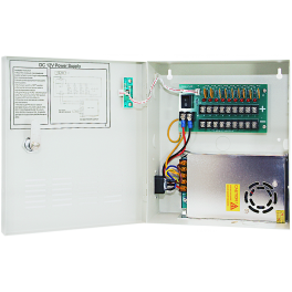 12V DC 9 Channel Power Supply 5AMP UL Listed