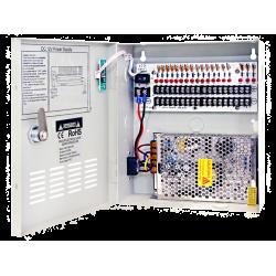12V DC, 20Amp, UL Listed Power Distributor