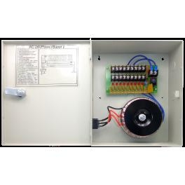 24V AC 9CH Fuse Rating: 2.3 Amp Power Box